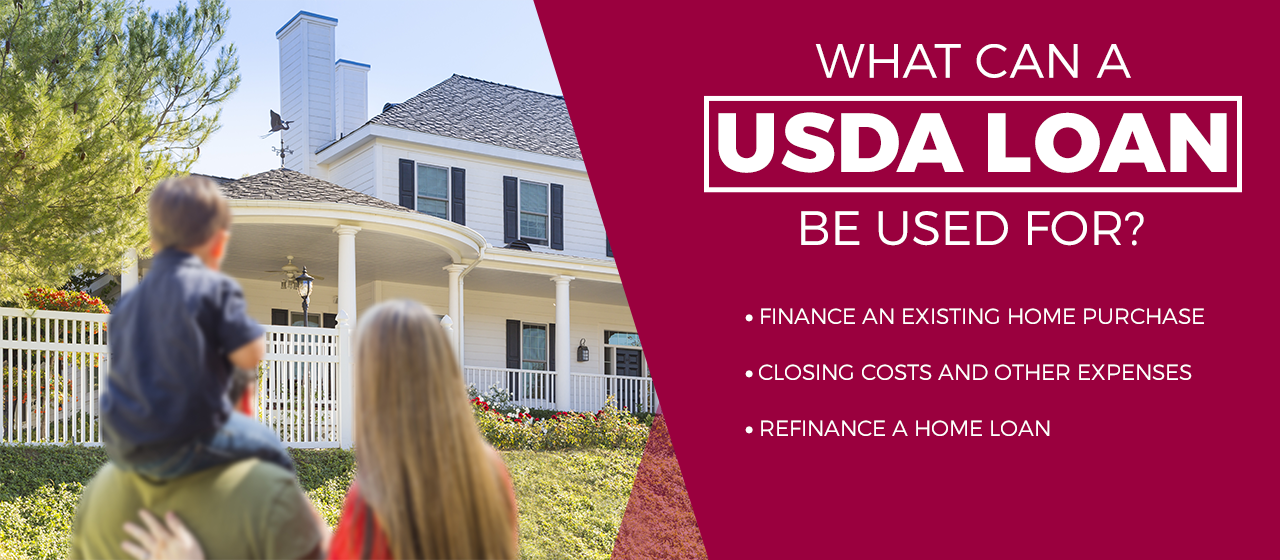 What can a USDA loan be used for? image